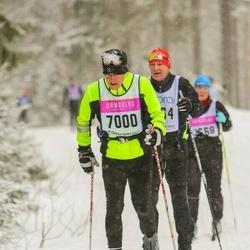 Skiing 90 km - Holger Björkqvist (7000)
