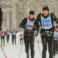 Skiing 90 km - Daniel Kvick (3608)
