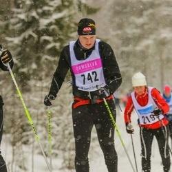 Skiing 90 km - Christian Fendinge (742)