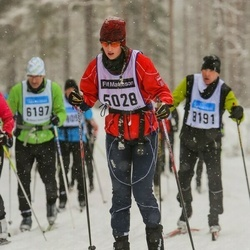 Skiing 90 km - Christine Nilsson (5028)