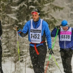 Skiing 90 km - Daniel Ekenberg (1452)