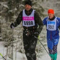 Skiing 90 km - Magnus Isegård (6998)