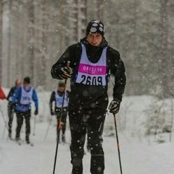 Skiing 90 km - Henrik Frid (2609)