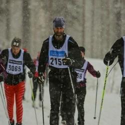 Skiing 90 km - Fredrik Lundgren (2156)