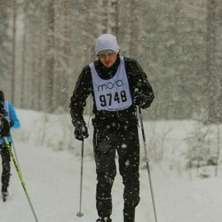 Skiing 90 km - Oskar Bälte (9748)
