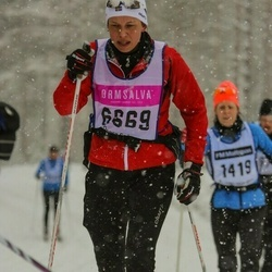 Skiing 90 km - Margaretha Alvestrand (6669)