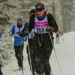 Suusatamine 90 km - Amanda Nyström (2667)