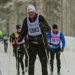 Skiing 90 km - Björn Andersson (5982)