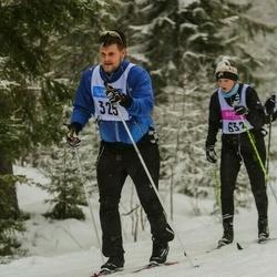 Skiing 90 km - Carl Melin (325)