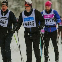 Skiing 90 km - Christoffer Idh (4443)