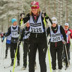 Skiing 90 km - Jenny Sintorn (3226)