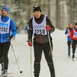 Skiing 90 km - Britt-Inger Backus (1750)