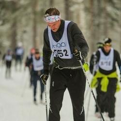Skiing 90 km - Edwin Noreheim (5552)
