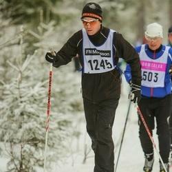 Skiing 90 km - Jens Djupa (1245)