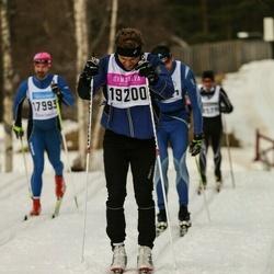 Skiing 90 km - Alexander Marcström (19200)