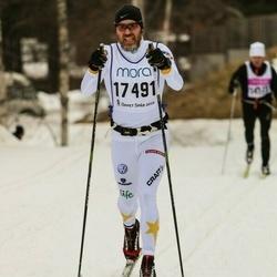 Skiing 90 km - Anders Klockar (17491)