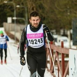 Skiing 90 km - David Karlsson (19243)