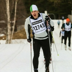 Skiing 90 km - Anders Wallin (12743)