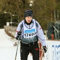 Skiing 90 km - Jonatan Strömner (17603)