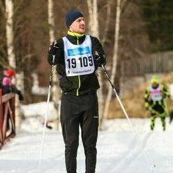 Skiing 90 km - Dennis Ingesson (19105)