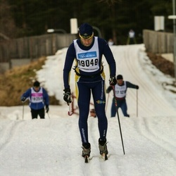 Skiing 90 km - Niklas Uddén (19048)