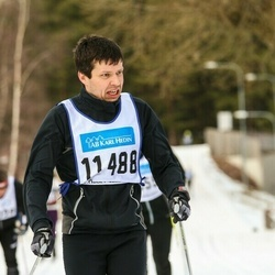 Skiing 90 km - Paul-Erik Van Gemst (11488)