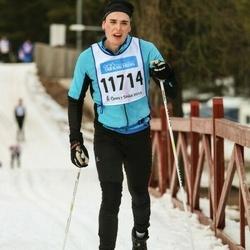 Skiing 90 km - Henrik Karlsson (11714)