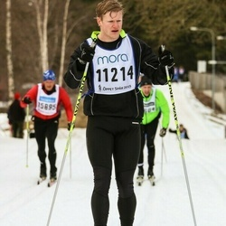 Skiing 90 km - Albin Dahlqvist (11214)