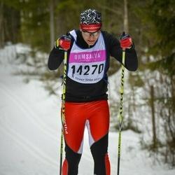Skiing 90 km - Henric Wangel (14270)