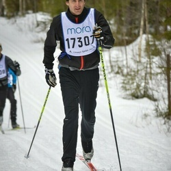Skiing 90 km - Anders Borgehed (17307)