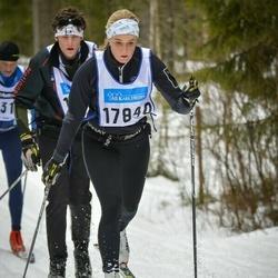 Skiing 90 km - Annika Lindberg (17840)