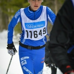 Skiing 90 km - Ebba Björk (11649)