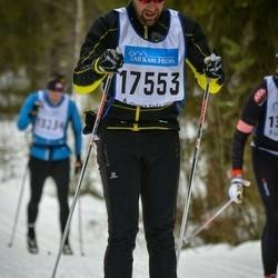 Skiing 90 km - Fredrik Vannerstedt (17553)