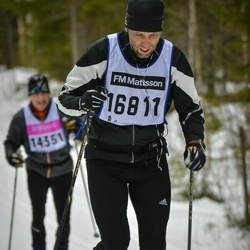 Skiing 90 km - Anders Bergquist (16811)
