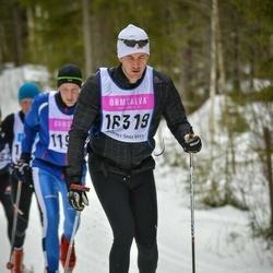Skiing 90 km - Erik Fredin (16319)