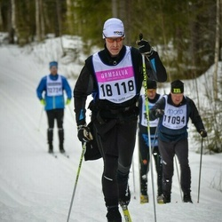 Skiing 90 km - Lars-Johan Eriksson (18118)