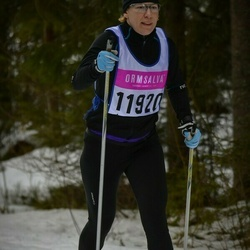 Skiing 90 km - Cecilia Lundgren (11920)