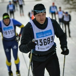 Skiing 90 km - Henrik Moreau (13683)
