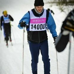 Skiing 90 km - Dennis Sundman (14000)