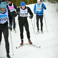 Skiing 90 km - Fredrik Falkenstrand (15326)