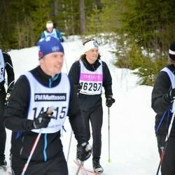 Skiing 90 km - Fredrik Holmgren (16297)