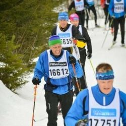 Skiing 90 km - Fredrik Hofrén (16612)