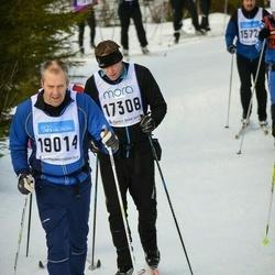 Skiing 90 km - Anders Sundqvist (17308), Dennis Schuldt (19014)