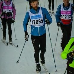 Skiing 90 km - Henrik Lundin (17883)