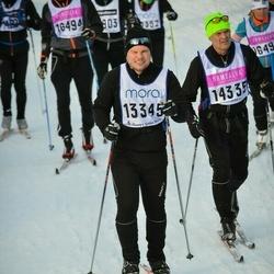 Skiing 90 km - Peter Krafft (13345), Åke Svensson (14335)