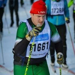 Skiing 90 km - Henrik Oscarsson (11661)