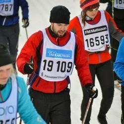 Skiing 90 km - Oscar Berg (19109)