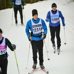 Skiing 90 km - Jon Bergquist (12318)