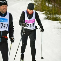 Skiing 90 km - Emelie Ågren (12183)