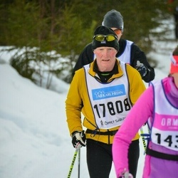 Skiing 90 km - Nils Ekelund (17808)